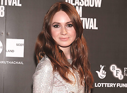 """Glasgow Film Festival 2018<br /> <br /> The World Premiere of """"THE PARTY'S JUST BEGINNING"""" was attended by actor/director Karen Gillan<br /> <br /> Alex Todd   EEm"""
