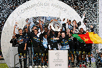 FOOTBALL - FRENCH CHAMPIONSHIP 2009/2010 - L1 - OLYMPIQUE MARSEILLE v GRENOBLE FOOT 38 - 15/05/2010 - PHOTO PHILIPPE LAURENSON / DPPI - OM TROPHY