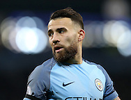 Nicolas Otamendi of Manchester City during the English Premier League match at the Etihad Stadium, Manchester. Picture date: December 18th, 2016. Picture credit should read: Simon Bellis/Sportimage
