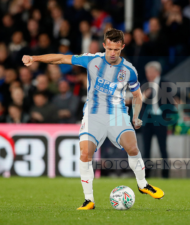 Huddersfield's Jonathan Hogg in action during the Carabao cup match at Selhurst Park Stadium, London. Picture date 19th September 2017. Picture credit should read: David Klein/Sportimage