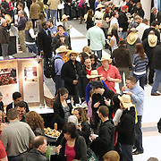 Seattle Wine and Food Experience at Seattle Center Exhibition Hall on February 26, 2012.