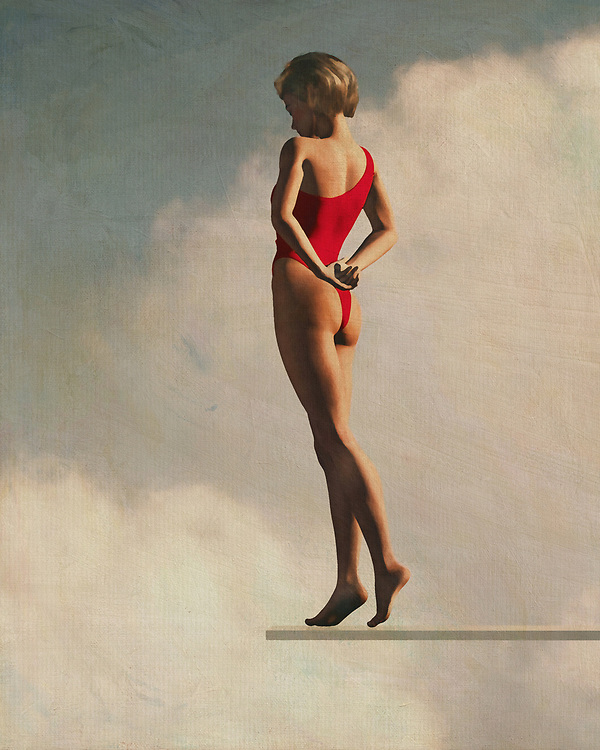 The Retro Style painting of a woman on a diving board is very popular and has been for many years. It is often done as an accent piece in the bedroom, but it can also be used outdoors as a free-standing painting structure. It is a great way to bring the past into your summertime wardrobe and the woman who wants to keep the past but still look modern will find this painting style very appealing. The style is mostly favored by women who are nostalgic, and it gives them a feeling of nostalgia while still remaining modern. Many women like the Retro Style painting style because of the colors and the washed-out appearance of the painting.<br /> <br /> The Fifties style painting of a woman on a diving board is a favorite with both men and women. The painting is reminiscent of many of the bathing suits that were popular in the fifties, which makes it very appealing. Most of these type of women are likely to love the romantic feel that this style painting has to it, and it makes a perfect wall accent. These types of women usually like to feel like they are just floating on the water, even if that is not the case. These types of women usually have a swimming pool or spa area in their home, so this painting style fits well with that type of atmosphere.<br /> <br /> A summer-time painting style that both men and women enjoy is the Retro Style painting. This particular painting style is often chosen by women who want a painting structure that is reminiscent of the past but is also modern. Retro style paintings make a great wall accent or even a painting to be used as a free-standing painting structure.