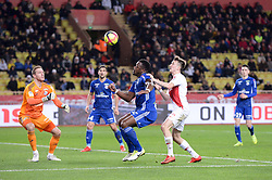 January 19, 2019 - Monaco, France - 01 MATZ SELS (STRA) - 05 LAMINE KONE (STRA) - 17 ALEKSANDR GOLOVIN  (Credit Image: © Panoramic via ZUMA Press)
