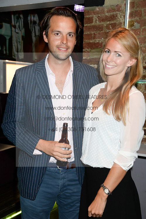CHARLIE GILKES and ANNEKE VON TROTHA TAYLOR at the Weigh In Party for the upcoming Boodles Boxing Ball held at Bunga Bunga, Battersea Bridge Road, London on 5th September 2013.