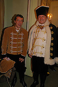 Count Bertrane Andrea di Recanati and Maurizio Sala. War and Peace charity Ball, Dorchester Hotel. Park Lane. London. 17 February 2005. ONE TIME USE ONLY - DO NOT ARCHIVE  © Copyright Photograph by Dafydd Jones 66 Stockwell Park Rd. London SW9 0DA Tel 020 7733 0108 www.dafjones.com