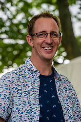 Pictured: Nathan Filer<br /><br />Nathan Filer is a British writer best known for his debut novel, The Shock of the Fall. This won several major literary awards, including the Costa Book of the Year and the Betty Trask Prize. It was a Sunday Times Bestseller, and has been translated into thirty languagesGer Harley   EEm 13 August 2019