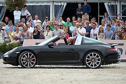Guery Jerome, (BEL)<br /> Winner of the Grand Prix Porsche<br /> Knokke Hippique 2015<br /> © Hippo Foto - Counet Julien<br /> 28/06/15