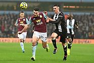 Aston Villa v Newcastle United 251119