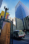 Image of downtown State Street in Chicago, Illinois, American Midwest by Andrea Wells