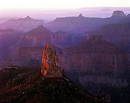 Point Imperial sunrise on North Rim Grand Canyon