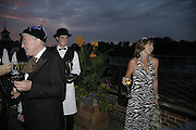 Peter Elwood and Countess Maya von Schonburg, Party Belle Epoque hosted by The Royal Parks Foundation and Champagne Perrier Jouet. The Grand Spiegeltent, the Lido Lawns. Hyde Park. London. 14 September 2006. ONE TIME USE ONLY - DO NOT ARCHIVE  © Copyright Photograph by Dafydd Jones 66 Stockwell Park Rd. London SW9 0DA Tel 020 7733 0108 www.dafjones.com