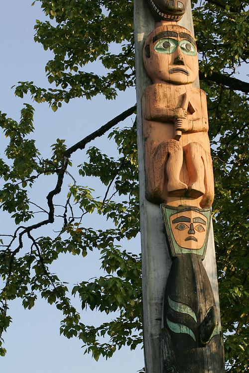 Totem, Wrangell, Alaska, Tlingit/Haida