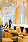 Interior of the luxury Four Seasons Hotel in Beirut, Lebanon