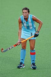Magdalena Aicega of Argentina during Olympics Games Athletics day 12 on August 24, 2004 in Olympiako Kentro Khokei, Athens.