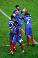 Olivier Giroud (FRA) replaced by Alexandre Lacazette (FRA), Kingsley Coman (FRA) replaced by Anthony Martial (FRA) during the 2017 Friendly Game football match between France and Wales on November 10, 2017 at Stade de France in Saint-Denis, France - Photo Stephane Allaman / ProSportsImages / DPPI