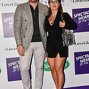 Jack Fincham and Dani Dyer attend Spectacle Wearer of the Year 2018 at 8 Northumberland avenue, on 23 October 2018, London, UK.
