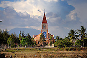 Catholic Church, Binh Thuan Province, Vietnam