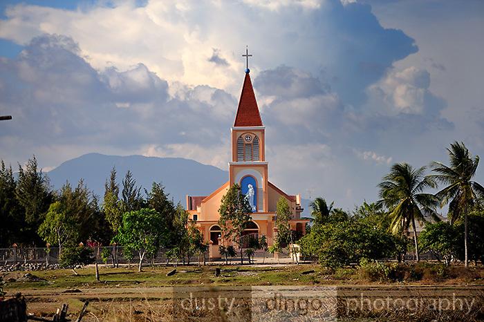 Catholic Church, Binh Thuan Province, Vietnam