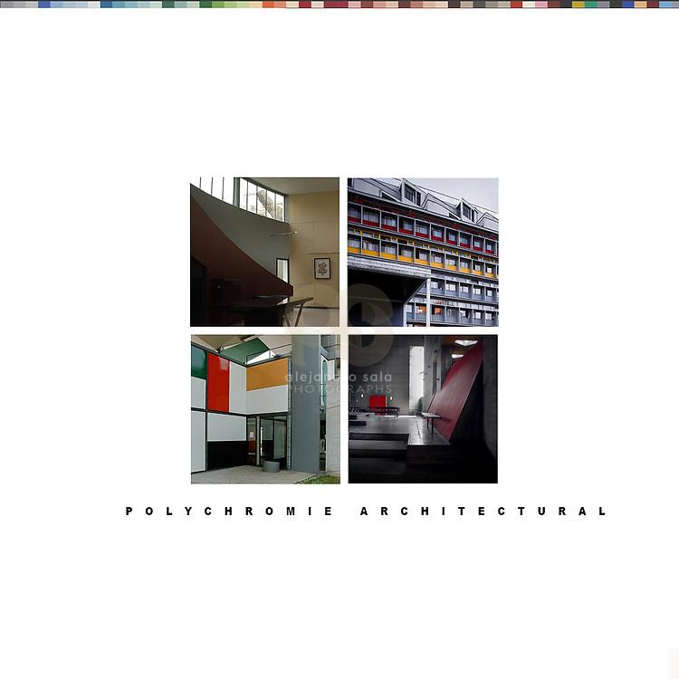 Le Corbusier - Polychromie Architectural<br /> Color studies, Le Corbusier architect - Photographs by Alejandro Sala - Historical Archive -