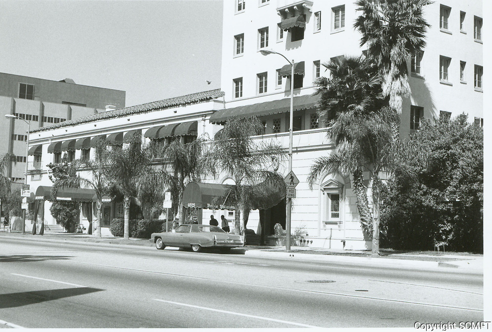 1984 Berman Entertainment building. Formerly the Hollywood Athletic Club.