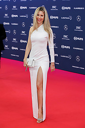 Vivian Sibold poses along the red carpet of the Laureus Sports Awards 2019 ceremony at the Sporting Monte-Carlo in Monaco on February 18, 2019. Photo by Marco Piovanotto/ABACAPRESS.COM