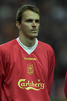 Fotball, Liverpool's German midfielder Dietmar Hamann.  (Foto: Digitalsport).