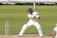 Neil Dexter batting during the Specsavers County Champ Div 2 match between Durham County Cricket Club and Leicestershire County Cricket Club at the Emirates Durham ICG Ground, Chester-le-Street, United Kingdom on 20 August 2019.