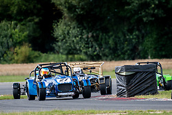 Danny Andrew pictured competing in the 750 Motor Club's Ma7da Race Series. Image captured at Snetterton on July 19, 2020 by 750 Motor Club's photographer Jonathan Elsey