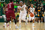 WACO, TX - DECEMBER 17: Royce O'Neale #00 of the Baylor Bears brings the ball up court against the New Mexico State Aggies on December 17, 2014 at the Ferrell Center in Waco, Texas.  (Photo by Cooper Neill/Getty Images) *** Local Caption *** Royce O'Neale