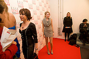 KATHY LETTE; GEORGIE, The Elle Style Awards 2009, The Big Sky Studios, Caledonian Road. London. February 9 2009.  *** Local Caption *** -DO NOT ARCHIVE -Copyright Photograph by Dafydd Jones. 248 Clapham Rd. London SW9 0PZ. Tel 0207 820 0771. www.dafjones.com<br /> KATHY LETTE; GEORGIE, The Elle Style Awards 2009, The Big Sky Studios, Caledonian Road. London. February 9 2009.