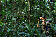 Wilderness Safari guide<br /> (Stephanie Courtines)<br /> Ngaga<br /> Republic of Congo (Congo - Brazzaville)<br /> AFRICA