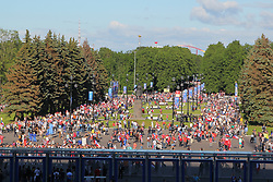July 2, 2017 - Saint Petersburg, Russia - Of The Russian Federation. Saint-Petersburg. Zenit-arena. Arena Saint-Petersburg. The FIFA Confederations Cup 2017. The final. In St. Petersburg took place the solemn Closing Ceremony of the Confederations Cup. (Credit Image: © Russian Look via ZUMA Wire)