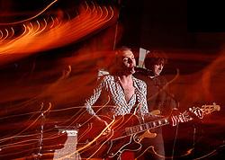 BRUSSELS, BELGIUM - JAN-20-2005 - Live music at the Bank Irish Pub. (PHOTO © JOCK FISTICK)