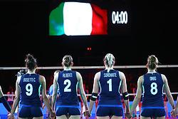 INNO<br /> ITALIA - SERBIA<br /> PALLAVOLO VNL VOLLEY FEMMINILE 2019<br /> CONEGLIANO (TV) 30-05-2019<br /> FOTO GALBIATI - RUBIN