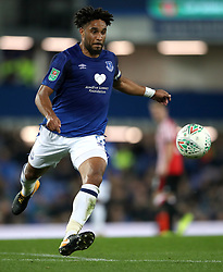 """Everton's Ashley Williams during the Carabao Cup, Third Round match at Goodison Park, Liverpool. PRESS ASSOCIATION Photo. Picture date: Wednesday September 20, 2017. See PA story SOCCER Everton. Photo credit should read: Nick Potts/PA Wire. RESTRICTIONS: EDITORIAL USE ONLY No use with unauthorised audio, video, data, fixture lists, club/league logos or """"live"""" services. Online in-match use limited to 75 images, no video emulation. No use in betting, games or single club/league/player publications"""