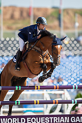 Bluman Daniel, ISR, Ladriano Z<br /> World Equestrian Games - Tryon 2018<br /> © Hippo Foto - Dirk Caremans<br /> 20/09/2018