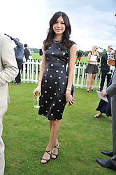 GEMMA CHAN at the Cartier Queen's Cup Polo Final, Guards Polo Club, Windsor Great Park, Berkshire, on 17th June 2012.