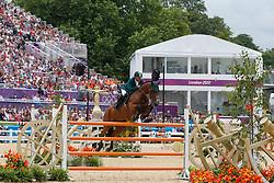 Al Duhami Ramzy (KSA) - Baryard de Villa Theresia<br /> Olympic Games London 2012<br /> © Dirk Caremans