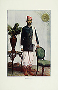 Marwari Man [from Marwar] Typical Pictures of Indian Natives Being reproduction from Specially prepared hand-colored photographs. By F. M. Coleman (Times of India) Seventh Edition Bombay 1902