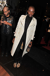 Jason Boateng at a party hosted by Roberto Cavalli to celebrate his new Boutique's opening at 22 Sloane Street, London followed by a party at Battersea Power Station, London SW8 on 17th September 2011.