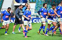 Nick ABENDANON - 01.05.2015 - Captains' Run de Clermont avant la finale - European Rugby Champions Cup -Twickenham -Londres<br /> Photo : David Winter / Icon Sport