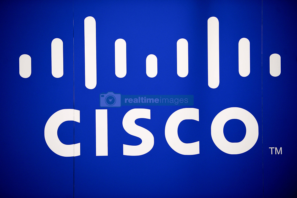 October 8, 2018 - Krakow, Poland - CISCO sign is seen on CISCO stand info point during the CyberSec, European Cyber Security Forum at Krakow Congress Center. (Credit Image: © Omar Marques/SOPA Images via ZUMA Wire)