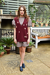Lady Violet Manners at The Ivy Chelsea Garden's Annual Summer Garden Party, The Ivy Chelsea Garden, 197 King's Road, London England. 9 May 2017.<br /> Photo by Dominic O'Neill/SilverHub 0203 174 1069 sales@silverhubmedia.com