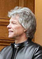 Jon Bon Jovi at Abbey Road Studios, Jon Bon Jovi recorded a special single in aid of the Invictus Games Foundation. Abbey Road. London. 28.02.20