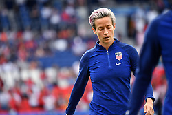 June 29, 2019 - Paris, ile de france, France - Megan Rapinoe (USA) during practice before the quarter-final between FRANCE vs USA in the 2019 women's football World cup at Parc des Princes in Paris, on the 28 June 2019. (Credit Image: © Julien Mattia/NurPhoto via ZUMA Press)