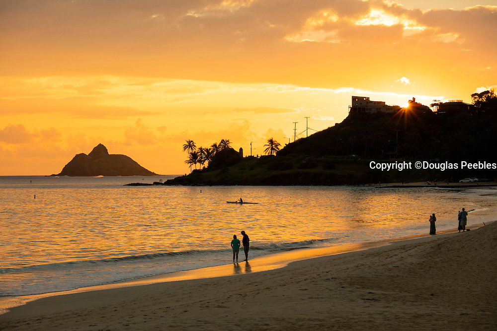 Sunsrise, Kailua Beach, Kailua,  Oahu, Hawaii