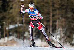 27.01.2018, Nordic Arena, Seefeld, AUT, FIS Weltcup Langlauf, Seefeld, Langlauf, Damen, im Bild Anna Roswitha Seebacher (AUT) // Anna Roswitha Seebacher of Austria // during Ladies Cross Country Race of the FIS World Cup at the Nordic Arena in Seefeld, Austria on 2018/01/27. EXPA Pictures © 2018, PhotoCredit: EXPA/ JFK