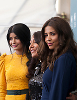 Venice, Italy, 29th August 2019, Mila Alzahrani, director Haifaa al-Mansour and Dhay at the photocall for the film The Perfect Candidate at the 76th Venice Film Festival, Sala Grande. Credit: Doreen Kennedy