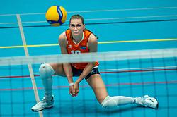 Nika Daalderop of Netherlands in action during the Women's friendly match between Belgium and Netherlands at Topsporthal Beveren on may 09, 2021 in Beveren, Belgium (Photo by RHF Agency/Ronald Hoogendoorn)