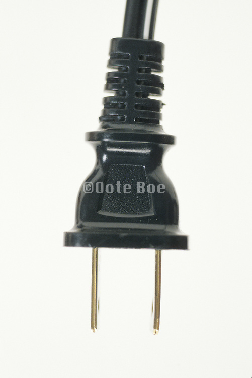 close up of plug on a cord
